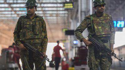 """Indiens Armee weiter """"in erhöhter Alarmbereitschaft"""""""