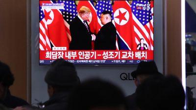 Nordkorea weist Trumps Aussagen zu Streit über Sanktionen zurück