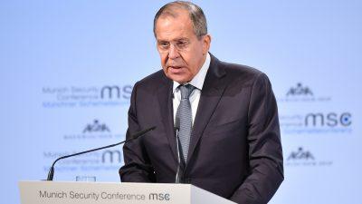 Russlands Außenminister Lawrow fordert die USA auf Flüchtlinge aus den Lagern in Syrien in ihre Heimat zurück zu schicken