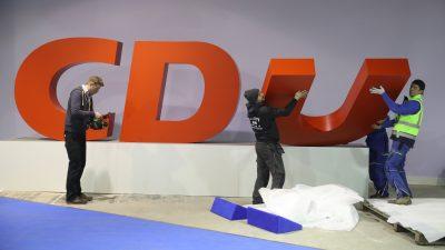 Keine guten Erfahrungen: CDU-Landesvorsitzende gegen Urwahl des Kanzlerkandidaten