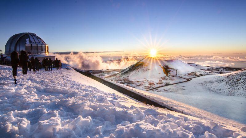 Schnee Auf Hawaii