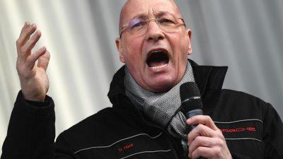 Porsche-Betriebsratschef Hück will in die Politik