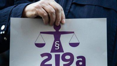 Der neue Paragraf 219a hebelt Werbeverbot für Abtreibungen praktisch aus
