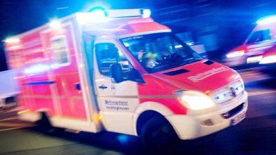 Wilder Mann in Kreuzberg: Mädchen sexuell belästigt, Helfer geschlagen, Polizist blutig gebissen