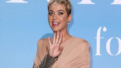 Katy Perry hat Heiratsantrag in der Luft bekommen