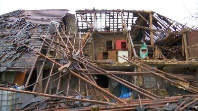 Tornado in der Eifel verwüstet Rötgen
