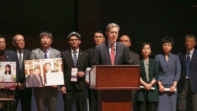 Religionsfreiheit in China: USA unterstützen Koalition zur Förderung der verfolgten Glaubensgemeinschaften