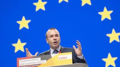 Weber verärgert: Nehmen Briten an Europawahl teil, sinken seine Mehrheitschancen weiter