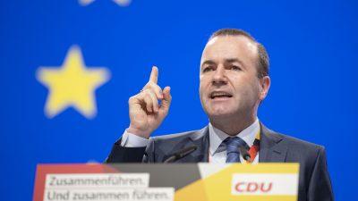 Manfred Weber gibt keine Entwarnung bezüglich Auschluss der Fidesz-Partei