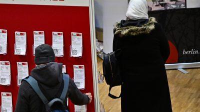 Bericht der Arbeitsagentur: 2,3 Millionen Arbeitslose – doch 4,7 Millionen erhalten Arbeitslosengeld