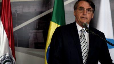 Bolsonaros erste Staatsbesuche in den USA, Chile und Israel geplant