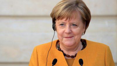 Merkel in Bürgerdialog: Nicht leichtfertig mit Demokratie und Frieden umgehen