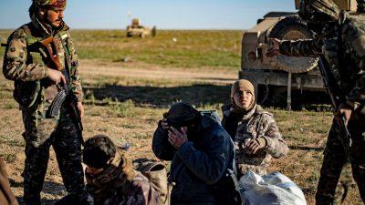 Syrien: IS-Angehörige gehen in Gefangenschaft und streben Heimkehr an – ohne Reue zu zeigen