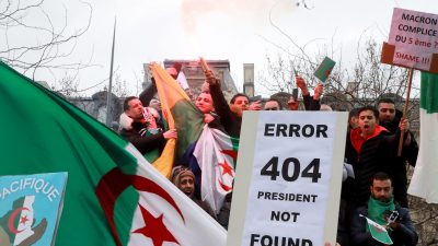 Neuer Asylansturm nach Europa? – Massenproteste in Algerien könnten in Bürgerkrieg münden