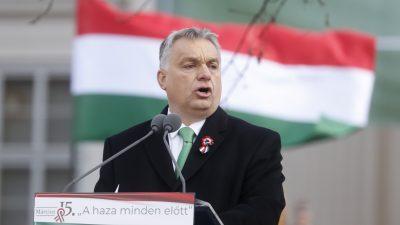 """Orbán vor Treffen mit Salvini: """"EVP muss sich zwischen Patriotismus und Selbstmord entscheiden"""""""