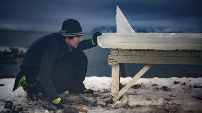 In Norwegen ist alles etwas eisiger – auch die Surfbretter