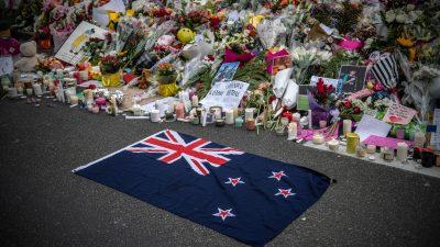 Terror-Video verbreitet: Untersuchungshaft über 18-Jährigen in Neuseeland verhängt
