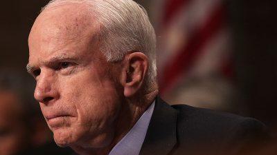 """""""Spygate""""-Skandal: Die unrühmliche Rolle des bei uns gefeierten Senators John McCain"""
