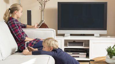 Kinder, die 7+ Stunden auf einen Bildschirm starren, weisen eine dünnere Hirnrinde auf