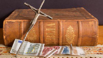 Steuerzahlungen an die Kirche: 523 Millionen Euro jährlich