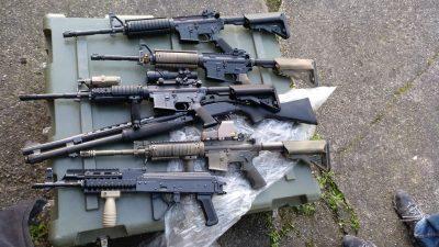 """Illegales Waffenlager in Frankfurt – """"Umfangreichste Sicherstellungen von Kriegswaffen"""""""