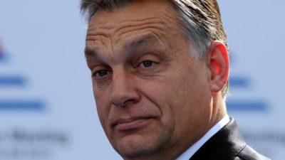 """Ungarns Orbán unterstützt EVP-Spitzenkandidat Weber nicht mehr: """"Hat mein Land beleidigt"""""""
