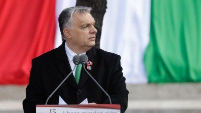 Viktor Orbán: Den Niedergang Europas aufhalten, damit Europa wieder den Europäern gehört