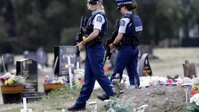 Neuseeland verschärft Waffengesetze
