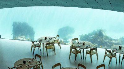 Erstes Unterwasserrestaurant in Norwegen eröffnet – 5 Meter unter Meeresspiegel