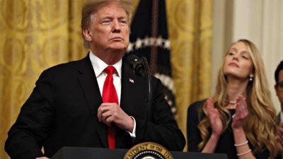 """Danke, Präsident Trump!"": Trump will Israels Souveränität über Golanhöhen anerkennen"