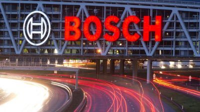Bosch rüstet Fabriken für Mobilfunkstandard 5G