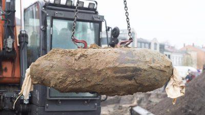Recyclingfirma haftet nicht für Millionenschaden durch detonierte Weltkriegsbombe