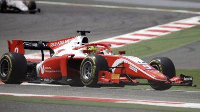 Mick Schumacher holt bei Formel-2-Debüt erste Punkte