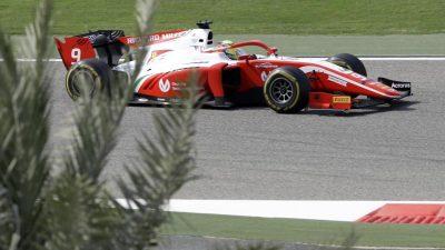 Vor Formel-1-Test: Schumacher holt erste Formel-2-Punkte