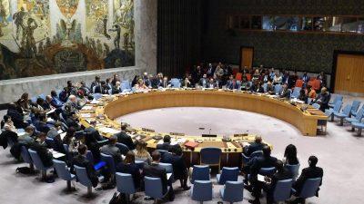 USA drängen im UN-Sicherheitsrat auf Verlängerung des Waffenembargos gegen Iran