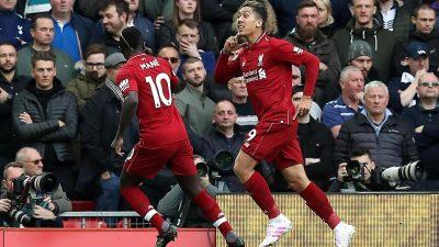 Liverpool bejubelt Eigentor gegen Tottenham und bleibt vorne