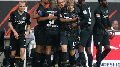 Frankfurt nimmt Kurs auf die Champions League