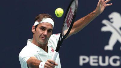Federer gewinnt Turnier in Miami