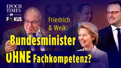 Weik & Friedrich: Wenn unfähige Politiker befördert werden – wie das Peter-Prinzip Deutschland ruiniert |ET im Fokus