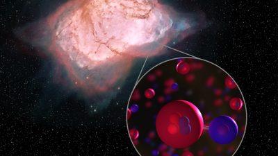 Forscher weisen frühestes Molekül des Universums im All nach