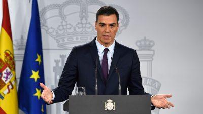 """Der """"Selbstdarsteller"""" ist gescheitert: Spanischer Sozialistenchef Sánchez muss viel Kritik einstecken"""