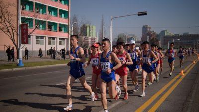 Pjöngjang-Marathon zieht mehr als doppelt so viele westliche Läufer wie 2018 an