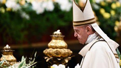 Papst beendet heute Osterfeierlichkeiten mit Messe und Segen