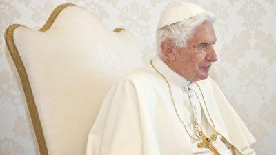 Papst Benedikt XVI.: Moralischer Kahlschlag durch 68er hat Akzeptanz von Pädophilie begünstigt