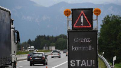 Seehofer hält Grenzkontrollen derzeit für unverzichtbar – 2018 wurden 12.522 Menschen aufgegriffen