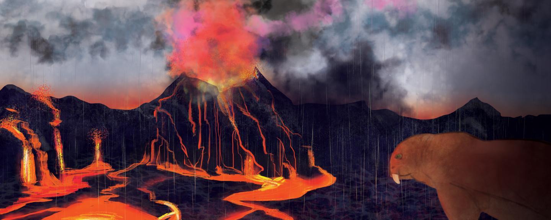 Vulkane, brennende Kohlelager und Quecksilber: Auslöser des größten Massensterbens aller Zeiten?