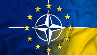 """EU und NATO setzen auf gute Zusammenarbeit mit Selenskyj: Ukraine ist ein """"geschätzter"""" Partner"""