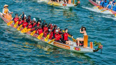 Hafengeburtstag Hamburg: Segelspaß, Regatten und das älteste Drachenbootrennen Deutschlands