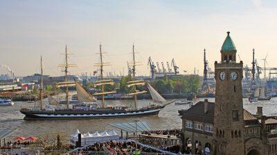 Vier Königinnen zum Hamburger Hafengeburtstag