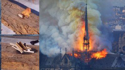Mysteriöses Notre-Dame-Feuer: Zigarettenkippen als Ursache? (+ Video: Brandtest an historischem Holzbalken)